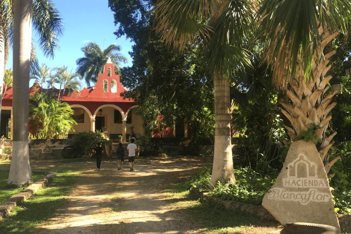 El recinto de descanso de la Emperatriz Carlota en Campeche y locación internacional de cine