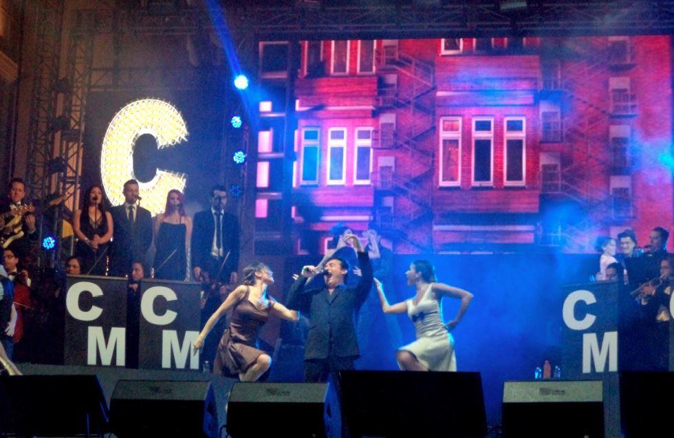 Carlos Marín da espectacular concierto en Campeche
