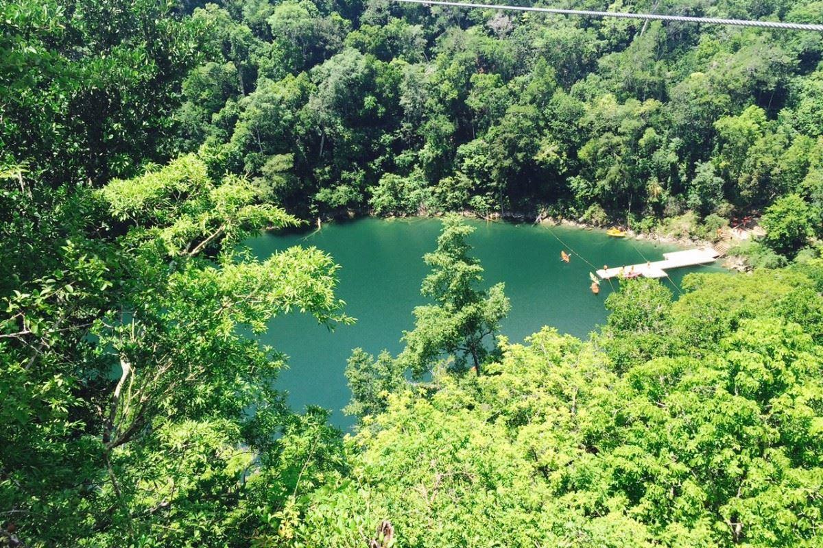 Descubre el encanto del Cenote Azul de Miguel Colorado Campeche