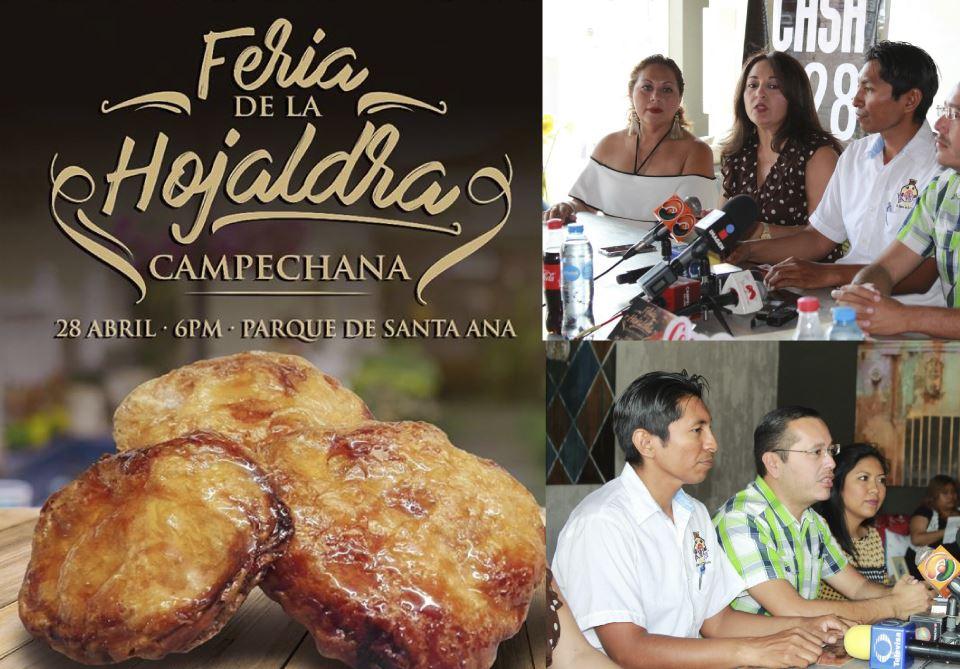 Empresarios organizan la Primera Feria de la Hojaldra Campechana