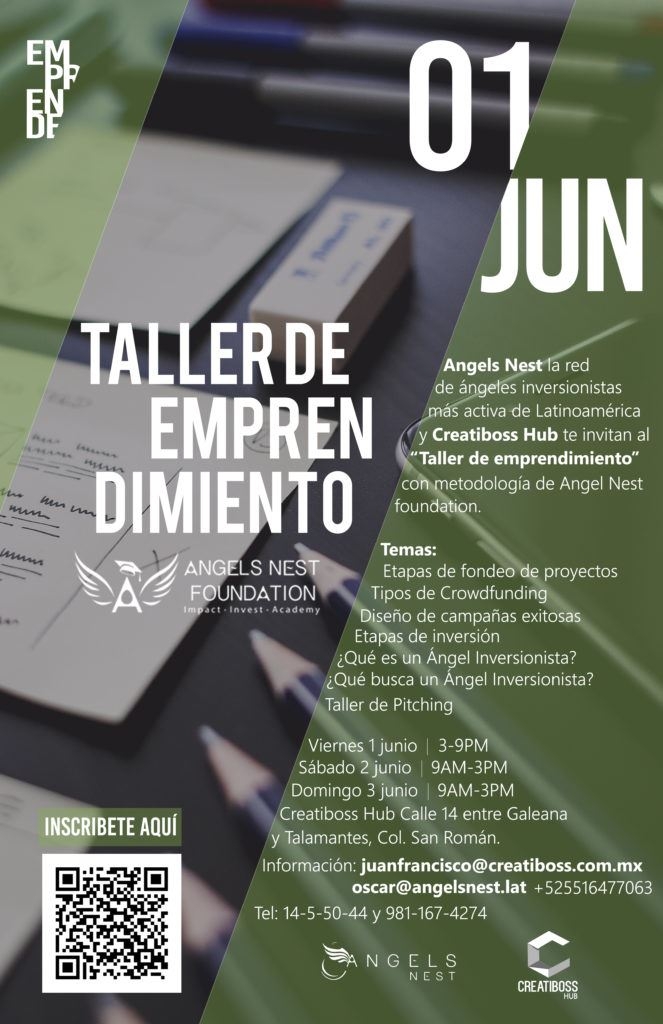 Flyer Taller emprendimiento_Blog_Lolina Rivas