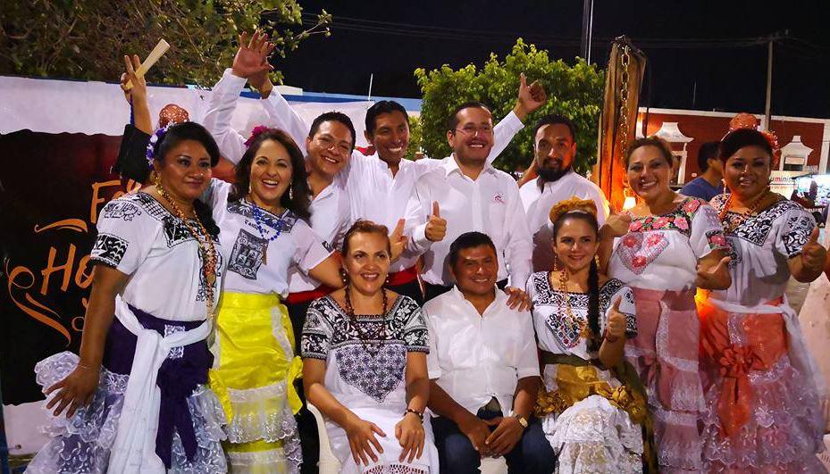 Más de 5 mil hojaldras vendidas en la Primera Feria de la Hojaldra Campechana